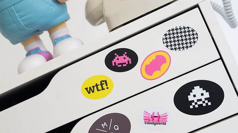 Stickers ovales personnalis s autocollants ovales personnalis s - Stickers muraux personnalises ...