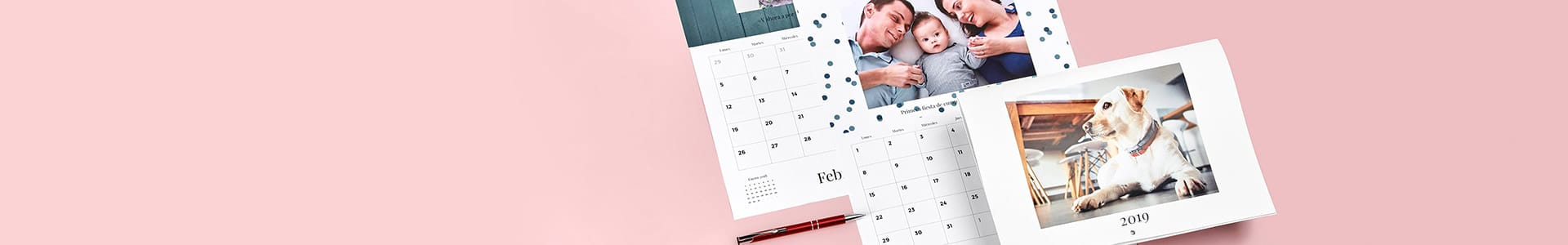 Personalised 2019 wall calendars
